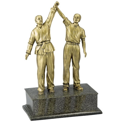 Resin Martial Arts Trophy - X8987 - Awards Component Parts X8987