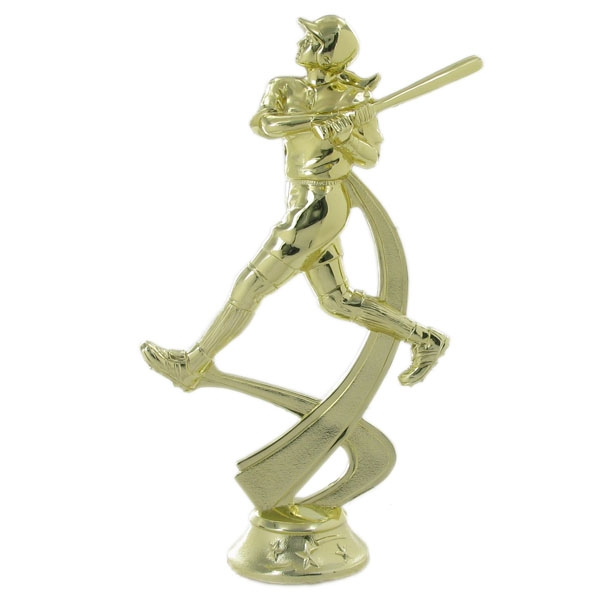 Softball Female Trophy Figure - F29577g - Trophies And Awards Baseball Sports Figures F29577G