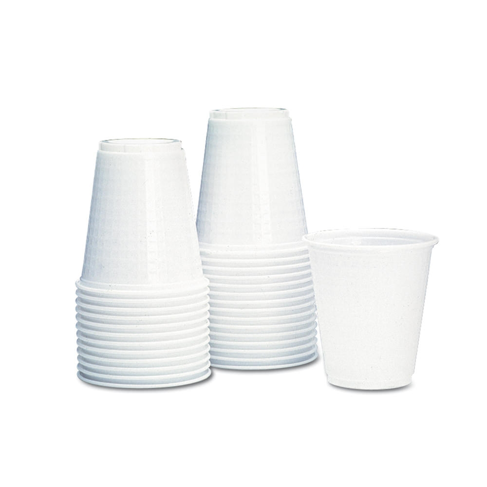 Tennis Drinking Cups - Tdi136 - Plastic Drinking Cups White 5 Oz. 1000/box - White TDI136