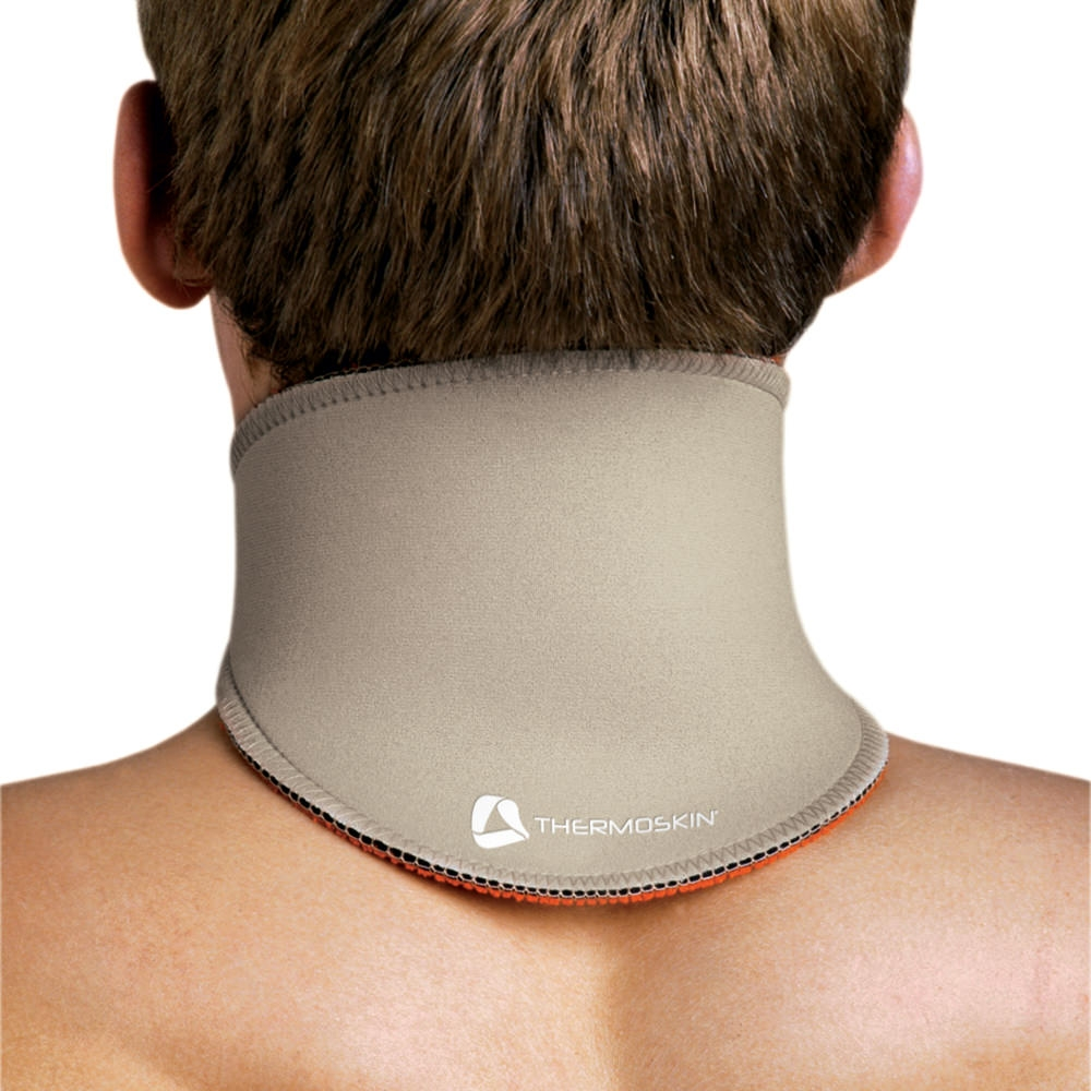 """Thermoskin Neck Short Support Beige X Large 17 1/2"""" 19"""" - Beige - Upi132xlg - Tennis Therapy Braces Supports UPI132XLG"""