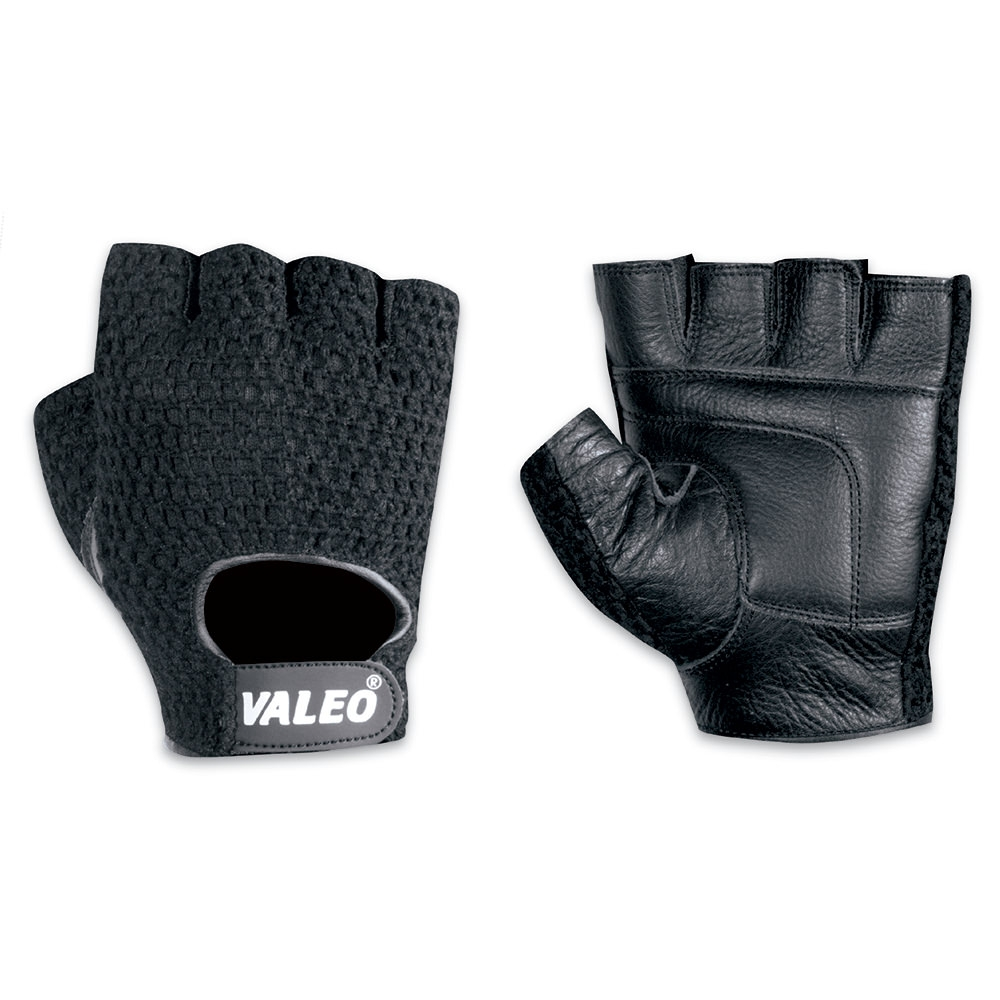 """Valeo Mesh Back Lifting Gloves Men's Black Small 7""""-8"""" - Black - Val126sml - Health Care Rehab And Active Care Strength And Resistance VAL126SML"""