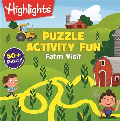 Sports & Fitness Physical Education & Sport Team Building Activities & Equipment Team Building Activities & Games - 979759 - Highlights Puzzle Activity Fun - Farm Visit 979759