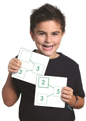 """Sports & Fitness Physical Education & Sport Team Building Activities & Equipment Team Building Activities & Games - 626647 - Sensational Math"""" Number-bonds Activity Cards - Addition & Subtraction 626647"""