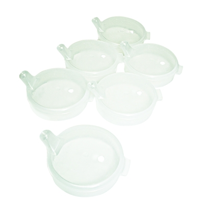 Independence Spout Lids; 6 Each - 60-1030 - Learning: Play Birthday Party Supplies Candles Hats Tableware 60-1030