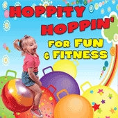 Hoppity Hoppin For Fun & Fitness - Kim9199cd - Music Sound Recordings Active Play Activity Songs KIM9199CD