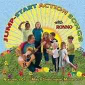 Jump Start Action Songs With Ronno - Kim9168cd - Music & Sound Recordings Artists Billy Gober KIM9168CD
