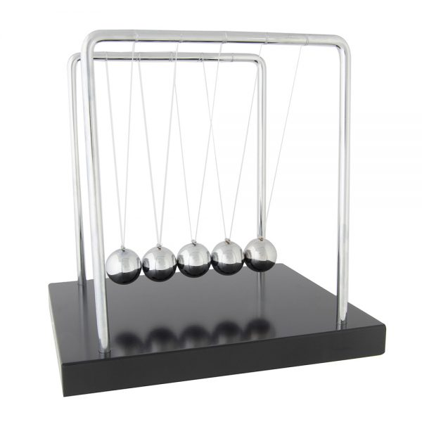 Learning: Science Balances Scales & Weights Spring Scales Balances Newton - 60003 - Newton's Cradle 60003