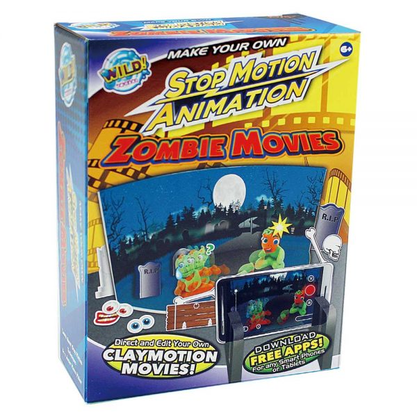 Zombie Movies Stop Action Animation - Ws932 - Toys Educational WS932