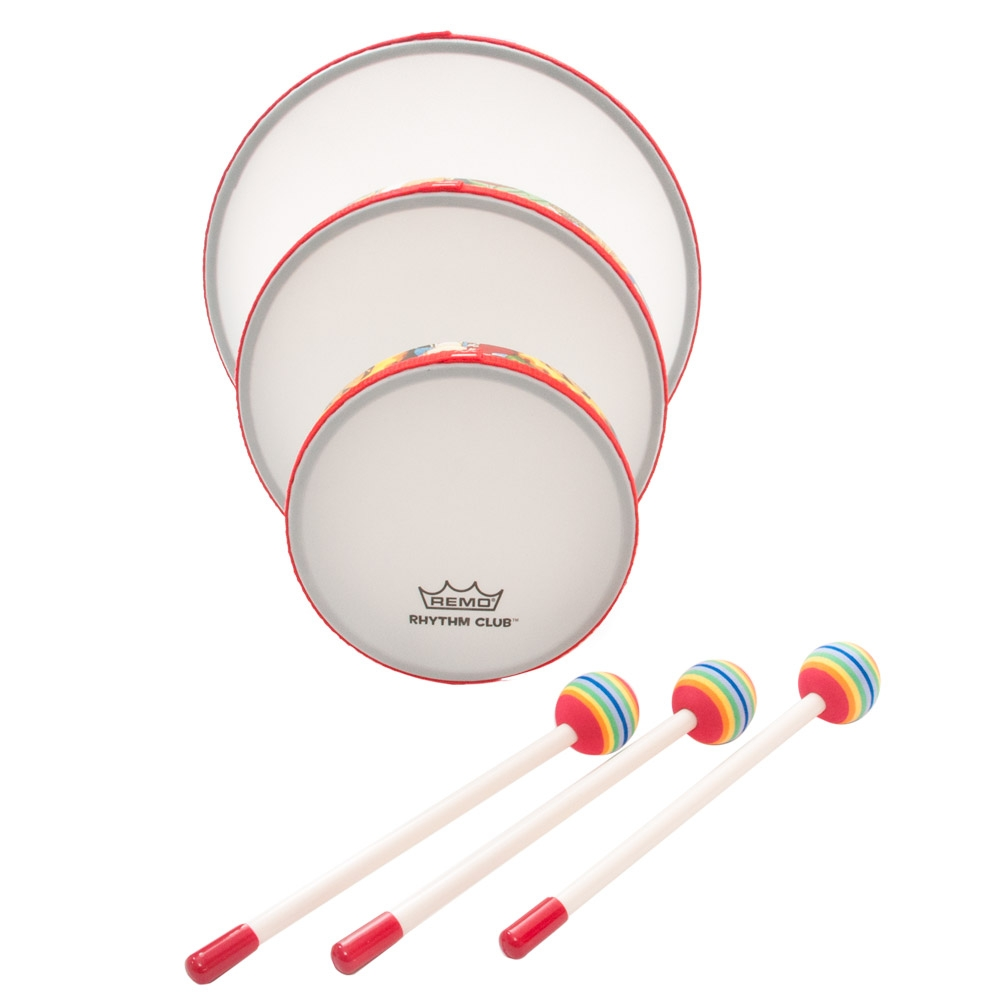 "Percussion Hand Drums - Rh-0110-00 - Remo Rhythm Club 10"" Hand Drum RH-0110-00"