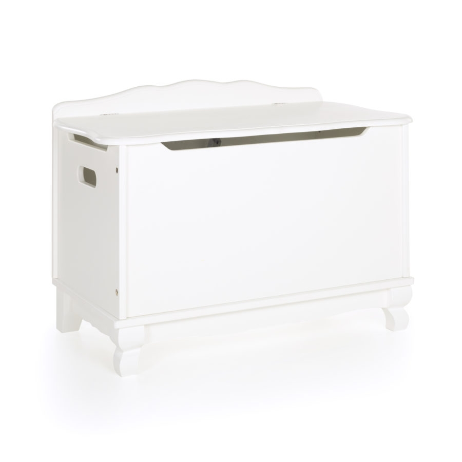 Guidecraft Classic White Toy Box - G85704 - Facilities Furniture Early Childhood Tables Activity Tables & Activity Table Sets G85704