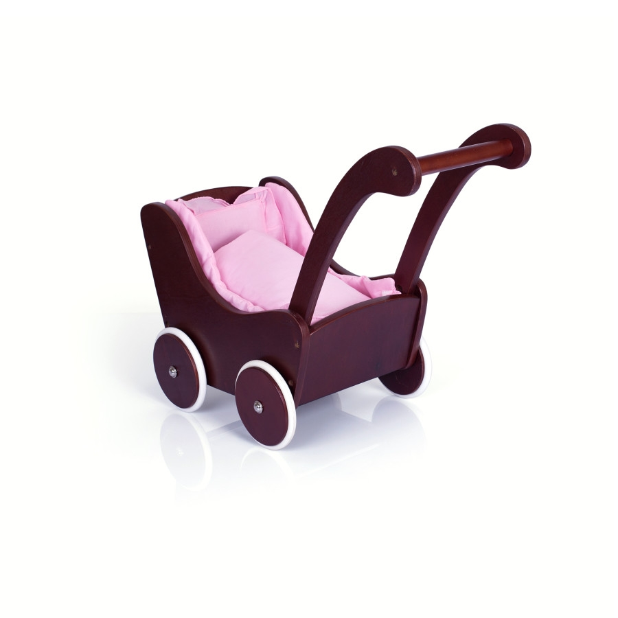 Guidecraft Doll Buggy - Espresso - G98107 - Facilities Furniture Early Childhood Strollers & Buggies & Wagons G98107