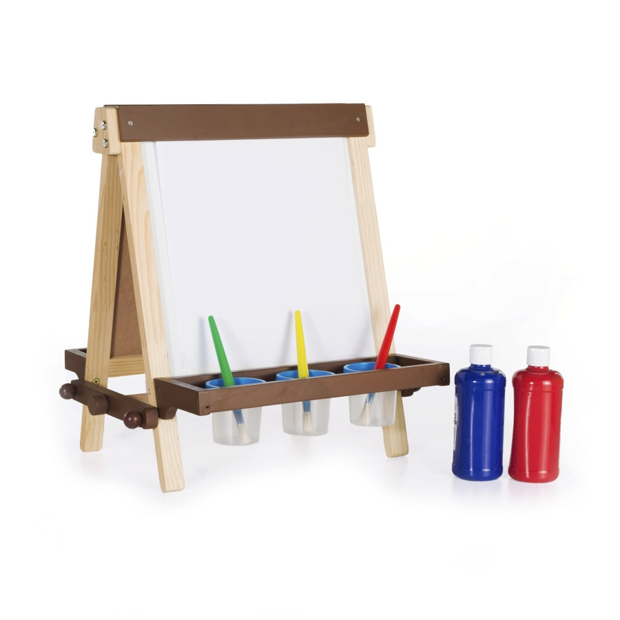 Guidecraft G51031 Wooden Tabletop Easel