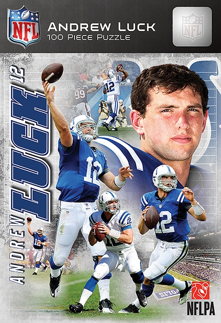 Puzzle 16-100 Pieces Nfl - 91508 - Andrew Luck Indianapolis 100pc Box 91508