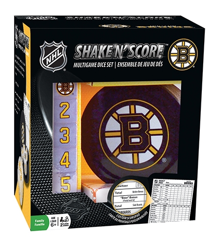 Sports & Fitness Physical Education & Sport Team Building Activities & Equipment Team Building Activities & Games - 41522 - Boston Bruins Shake En Score 41522