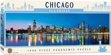 Learning: Supplies Paper Stationery Paper & Theme Paper - 71594 - Chicago 1000pc Pano 71594