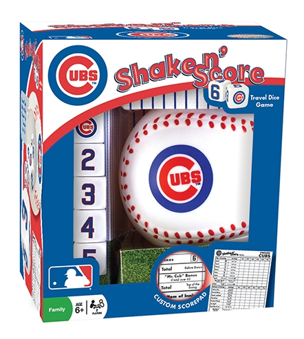 Sports & Fitness Physical Education & Sport Team Building Activities & Equipment Team Building Activities & Games - 41519 - Chicago Cubs Shake En Score 41519
