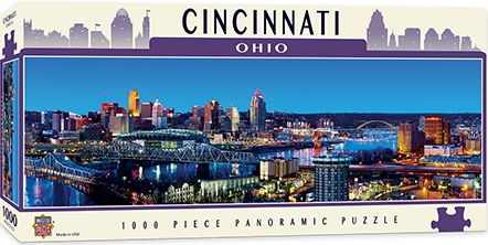 Learning: Supplies Paper Stationery Paper & Theme Paper - 71587 - Cincinnati 1000pc Pano 71587