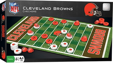 Learning: Play Active Play Active Games - 41624 - Cleveland Browns Checkers 41624