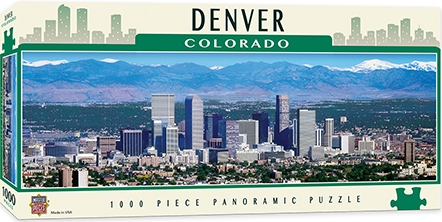 Learning: Supplies Paper Stationery Paper & Theme Paper - 71598 - Denver 1000pc Pano 71598