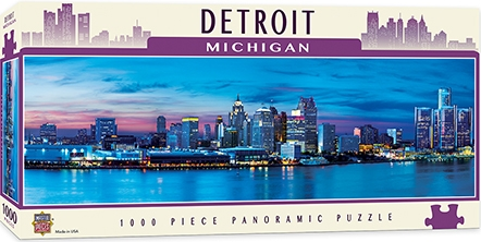 Learning: Supplies Paper Stationery Paper & Theme Paper - 71597 - Detroit 1000pc Pano 71597