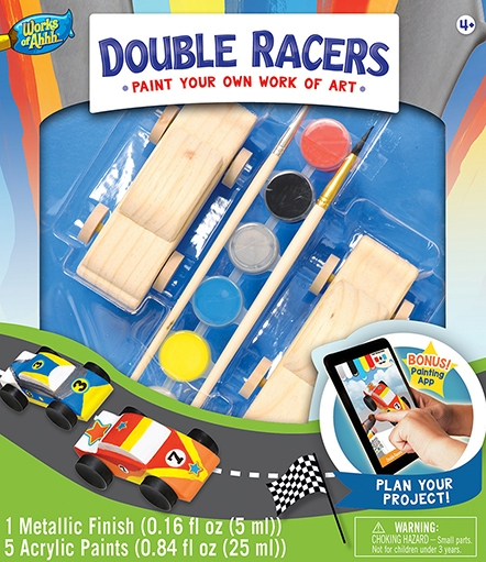 Learning: Classroom Arts & Crafts Crafts Paper Crafts - 21411 - Double Racers 21411