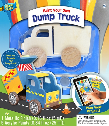 Learning: Classroom Arts & Crafts Crafts Paper Crafts - 21394 - Dump Truck 21394