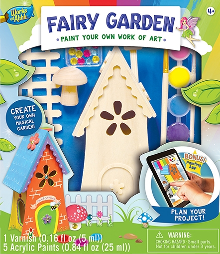 Learning: Classroom Arts & Crafts Crafts Paper Crafts - 21486 - Fairy Garden 21486