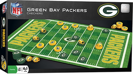 Learning: Play Active Play Active Games - 41447 - Green Bay Packers Checkers 41447