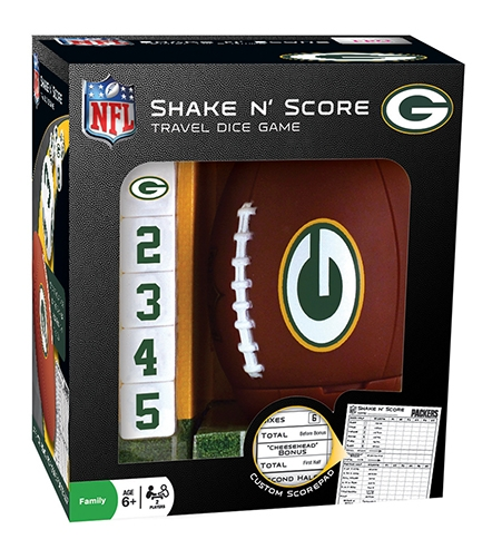 Sports & Fitness Physical Education & Sport Team Building Activities & Equipment Team Building Activities & Games - 41505 - Green Bay Packers Shake En Score 41505
