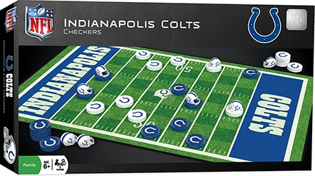Learning: Play Active Play Active Games - 41448 - Indianapolis Colts Checkers 41448