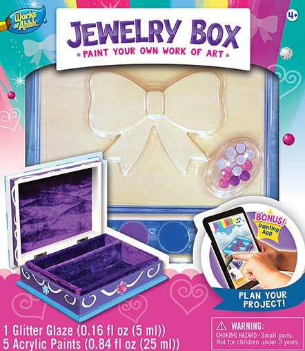 Learning: Classroom Arts & Crafts Crafts Paper Crafts - 21636 - Jewelry Box - Bow 21636