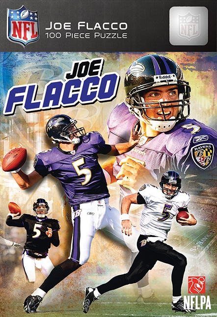 Hobbies And Creative Arts Sports Collectibles Baseball And Softball Fan Accessories Teams - 598891532 - Baltimore Ravens Joe Flacco Puzzle-100pc 598891532