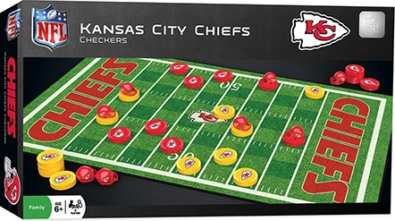 Learning: Play Active Play Active Games - 41449 - Kansas City Chiefs Checkers 41449