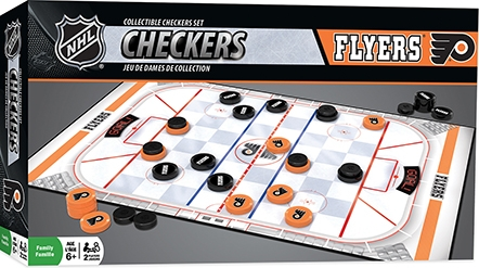 Learning: Play Active Play Active Games - 41545 - Philadelphia Flyers Checkers 41545