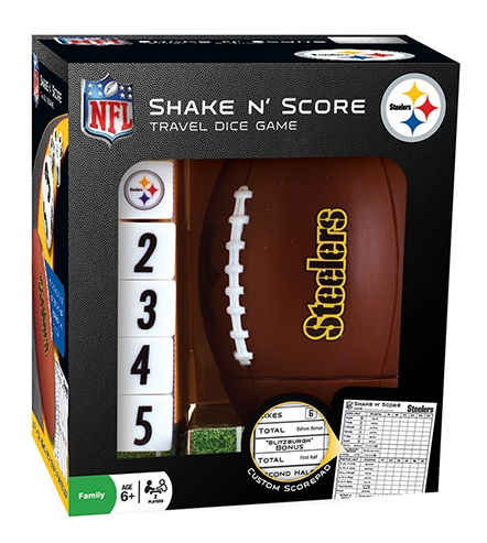 Sports & Fitness Physical Education & Sport Team Building Activities & Equipment Team Building Activities & Games - 41506 - Pittsburg Steelers Shake En Score 41506