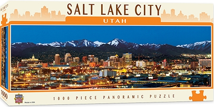 Learning: Supplies Paper Stationery Paper & Theme Paper - 71592 - Salt Lake City 1000pc Pano 71592