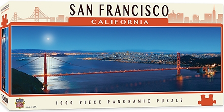 Learning: Supplies Paper Stationery Paper & Theme Paper - 71595 - San Francisco 1000pc Pano 71595
