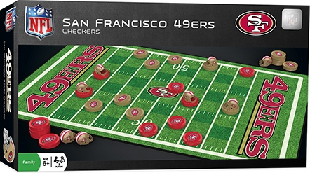 Learning: Play Active Play Active Games - 41454 - San Francisco 49ers Checkers 41454