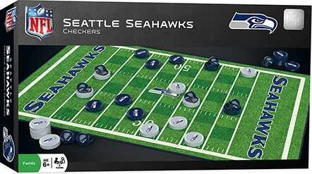 Learning: Play Active Play Active Games - 41455 - Seattle Seahawks Checkers 41455