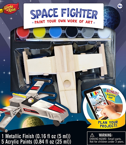 Learning: Classroom Arts & Crafts Crafts Paper Crafts - 21640 - Space Fighter 21640