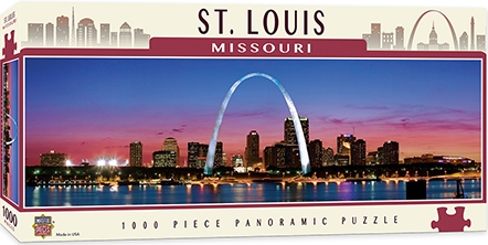 Learning: Supplies Paper Stationery Paper & Theme Paper - 71591 - St. Louis 1000pc Pano 71591