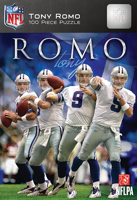 Dallas Cowboys Tony Romo Puzzle-100pc - 598891530 - Hobbies And Creative Arts Sports Collectibles Baseball And Softball Fan Accessories Teams 598891530