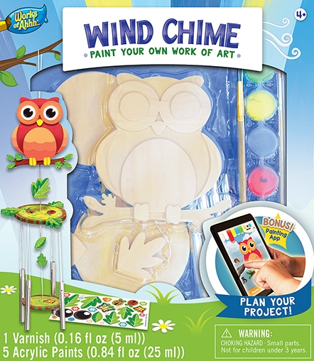Learning: Classroom Arts & Crafts Crafts Paper Crafts - 21638 - Wind Chime - Owl 21638