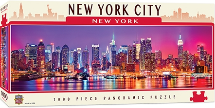 Learning: Supplies Paper Stationery Paper & Theme Paper - 71596 - New York 1000pc Pano 71596