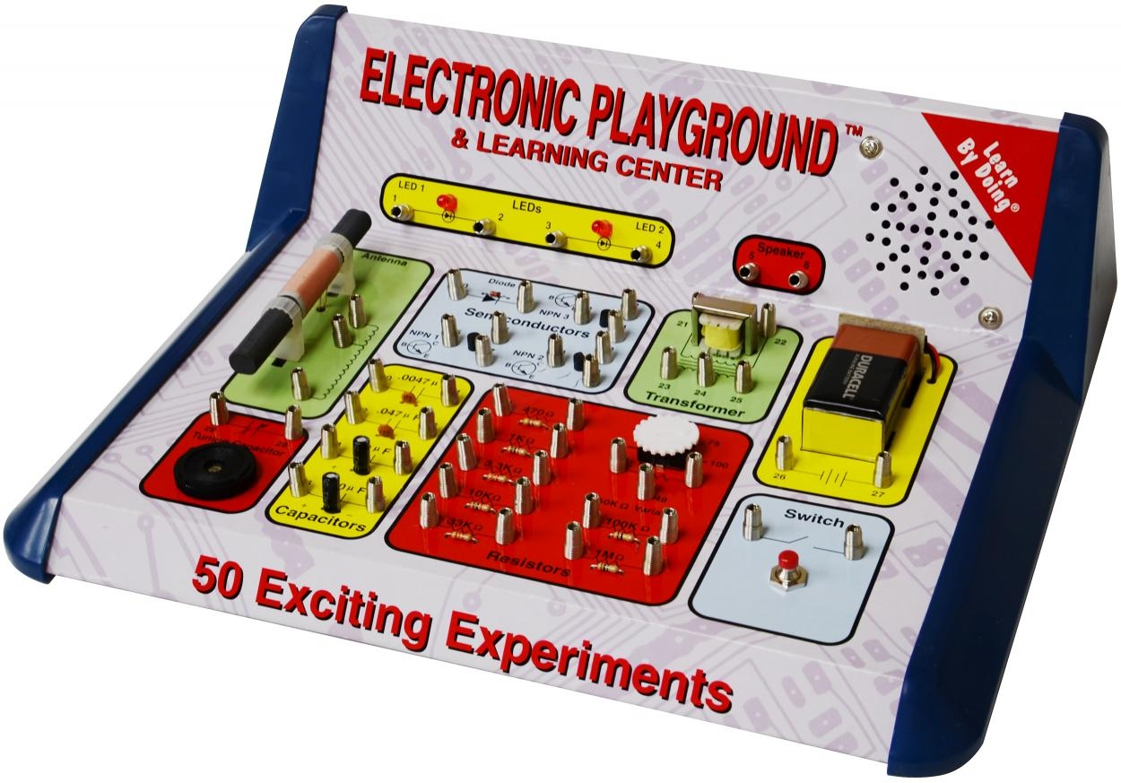 Learning: Science Physics Projects Lessons & Supplies Applied Physics Books & Projects - Ep50 - Electronic Playground 50-in-1 Experiments EP50