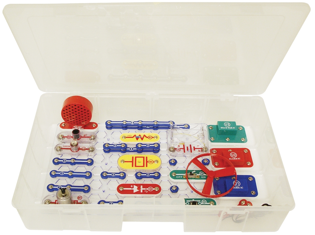 Snap Circuits Jr. Educational 100 Exp. - Sc100r - Version SC100R