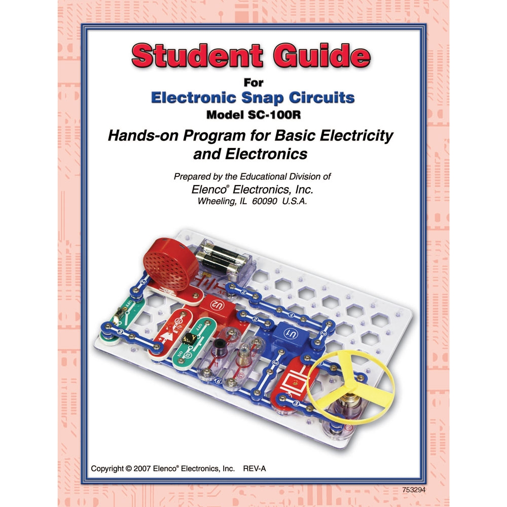 Facilities Buying Guides Preschool Activity Tables Buying Guide - 753294 - Snap Circuits Student Guide For Sc100/sc100r 753294