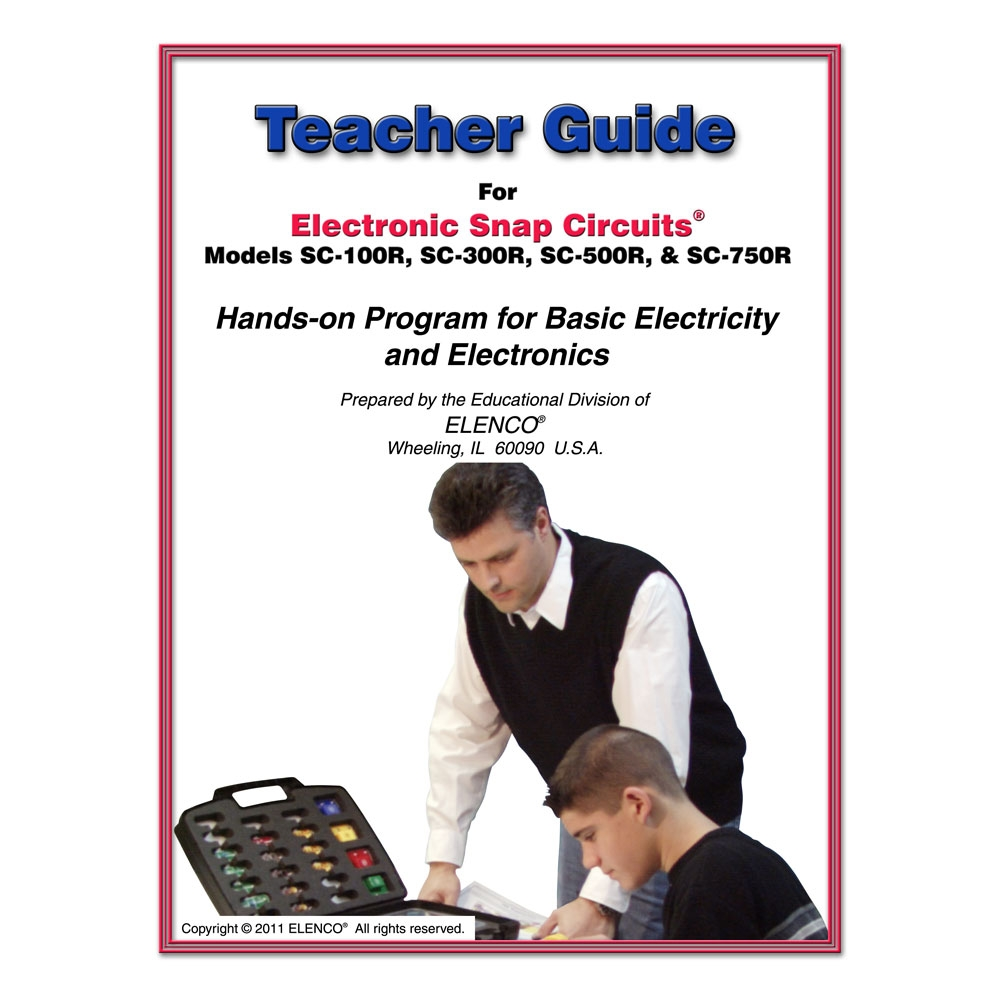 Facilities Buying Guides Preschool Activity Tables Buying Guide - 753290 - Snap Circuits Teachers Guide 100r/300r/500r/750r 753290