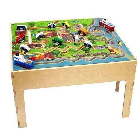 Facilities Furniture Early Childhood Tables Activity Tables & Activity Table Sets - Ctt7706 - City Transportation Table CTT7706