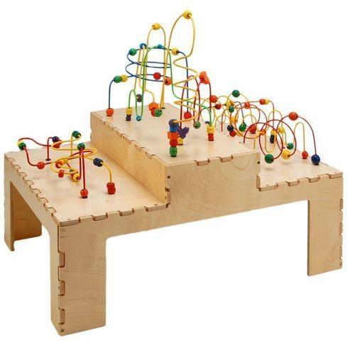Facilities Furniture Early Childhood Tables Activity Tables & Activity Table Sets - Stu0571 - Step Up Rollercoaster Table STU0571